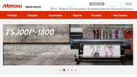 Mimaki Brasil lança novo site