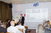 Guy Gecht destaca avanço da impressão digital em palestra no Brasil
