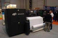EFI avança com soluções de impressão digital têxtil Reggiani e VUTEk FabriVU