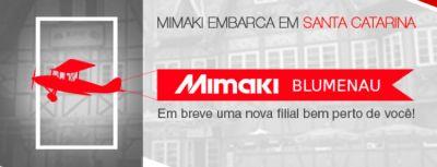 Mimaki anuncia que terá filial em Blumenau