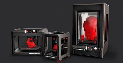 Parceria Alcateia e Makerbot vai prover impressão 3D em escala