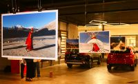 Exposição beneficente tem obras impressas com equipamentos Canon