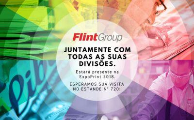 Flint Group destaca fortalecimento da marca e apresenta soluções na ExpoPrint Latin America 2018