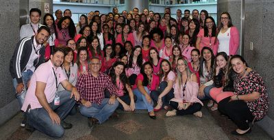 Canon do Brasil realiza ação interna para lembrar Outubro Rosa