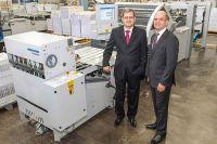Dobradeira KH-82 da Heidelberg traz aumento de produtividade para Casa Publicadora Brasileira