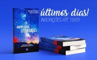Inscrições para participar da Antologia Impressões Literárias vão até o dia 20