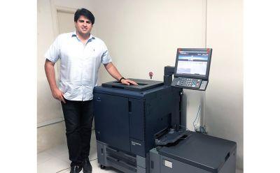 Gráfica RB investe no primeiro modelo AccurioPRINT C2060L de Pernambuco