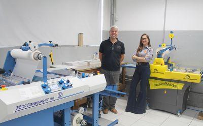 Inove Gráfica Digital investe em novo modelo de laminadora Foliant