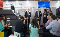 ExpoPrint 2018: Equipamentos reservados por clientes mostram o sucesso da participação da Heidelberg no evento
