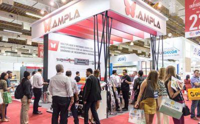 Ampla apresentou ao mercado gráfico na ExpoPrint novas oportunidades de negócios oferecidos pela impressão digital