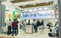 Estande da Muller Martini atrai visitantes na ExpoPrint Latin America 2018