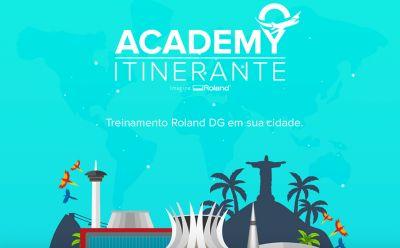 Roland DG leva cursos e treinamentos gratuitos para Sergipe