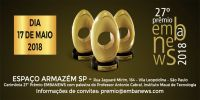 Prêmio Embanews ocorre em maio em São Paulo