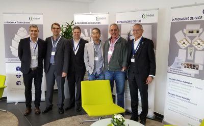 Clientes brasileiros participam do Packaging Day na Heidelberg Alemanha