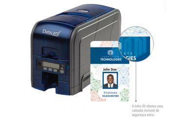 AKAD traz tecnologia de impressão ultravioleta UV com impressoras e suprimentos Datacard