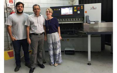 Unigráfica registra aumento de produtividade com Guilhotina Polar N 115 PLUS, da Heidelberg