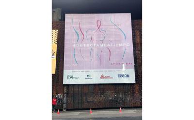 Impressão da Epson é destaque em ações de combate ao câncer de mama