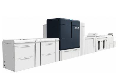 Novo front-end digital Fiery para a Iridesse Production Press da Xerox oferece impressão brilhante em seis cores
