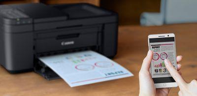 Canon muda marca de linha de impressora e multifuncional