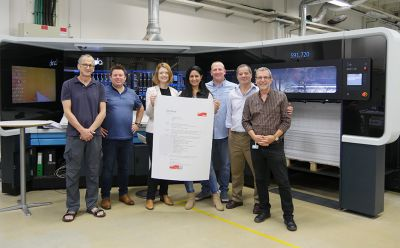 EFI Fiery e impressora Landa S10 são as primeiras a receberem a certificação FOGRA VPS
