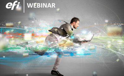 EFI realiza webinars sobre otimizar desempenho na Industria Gráfica e de Conversão