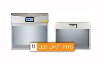 X-Rite lança kits de lâmpadas de LED para cabines de iluminação