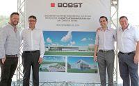 Bobst lança Pedra Fundamental de nova fábrica no Brasil