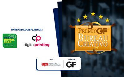 FESPA Digital Printing 2020 sedia Prêmio GF Bureau Criativo