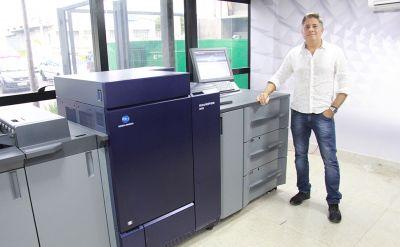 Gráfica Movimento adquire impressora digital AccurioPress C6100