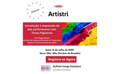 DuPont promove webinar sobre impressão em tintas pigmento