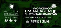 Inscrições abertas para Workshop Embalagem & Sustentabilidade