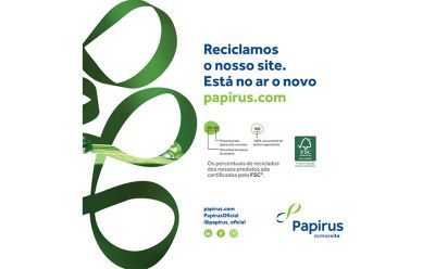 Papirus lança novo site corporativo
