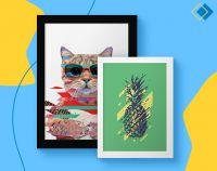 Printi lança plataforma Decora Printi para produção de quadros decorativos personalizados