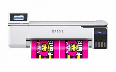 Epson lança nova impressora de sublimação têxtil ultracompacta e com tinta fluorescente