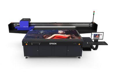Epson anuncia sua primeira impressora UV base plana para grandes formatos