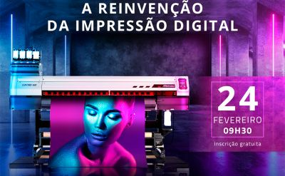Mimaki e FESPA Brasil promovem webinar sobre impressão digital