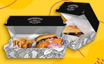 Printi lança nova embalagem de hambúrguer