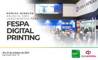 Konica Minolta leva três lançamentos para a FESPA Digital Printing
