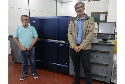 Duconn Comunicação é primeira empresa na América Latina a investir na AccurioPress C14000