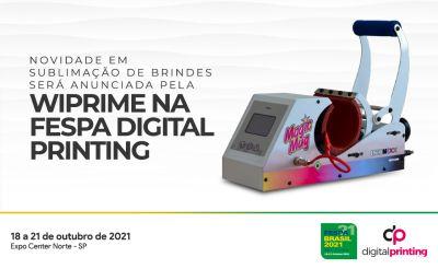 WiPrime lança prensa de caneca com tecnologia única na FESPA Digital Printing