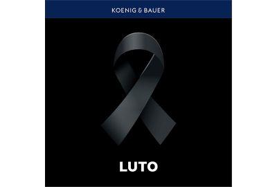 Nota de Falecimento - Colaborador Koenig & Bauer
